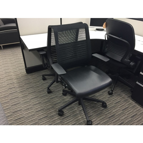 Steelcase Think Chair (Leather Seat Pan)