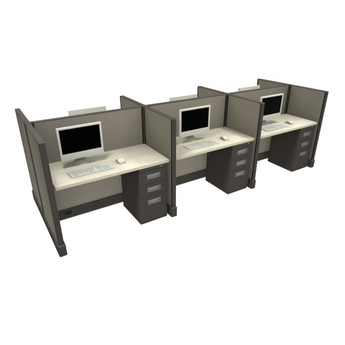 Systems 2 Cubicle Workstation (Multiple Size Available)